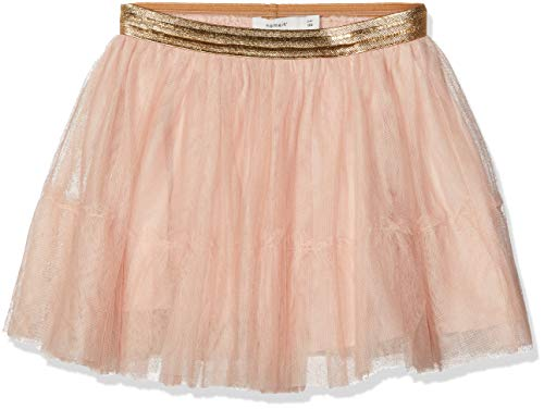 NAME IT Mädchen Rock Nmftullu Tulle Skirt Noos, Rosa (Rose Cloud), (Herstellergröße: 110)