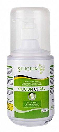 Silicium G5 Gel 500 ml - Topische Kieselsäure für gesunde und jugendlich aussehende Haut von Silicium Laboratories