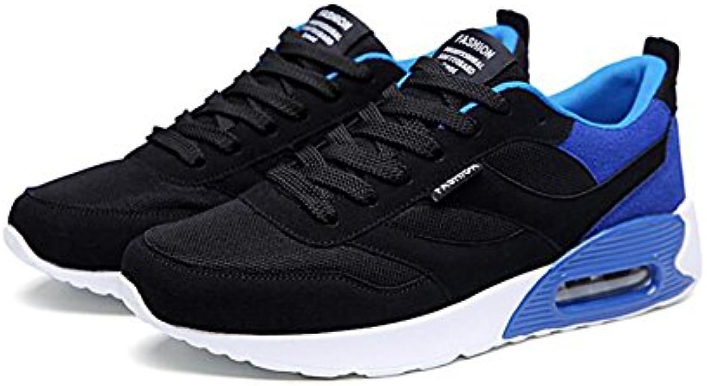 XUEQIN Schuhe Männer Sportschuhe Freizeitschuhe Student Unsichtbare High heel Platte Schuhe Herrenschuhe Trainer