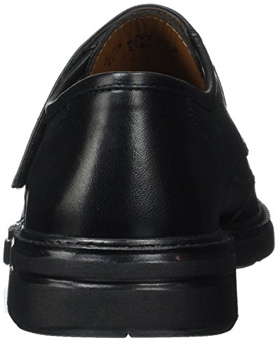 Sioux Manfred, Mocassins (loafers) homme Noir (Schwarz)