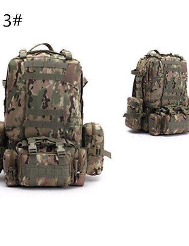 GXS Special Forces Camouflage Tactical Kombination Paket Bergsteigen Taschen Wasserdicht Rucksack Camping - color 5#
