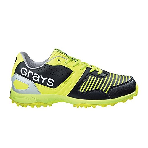 grays-gx5500-hockey-scarpe-colore-nero-giallo