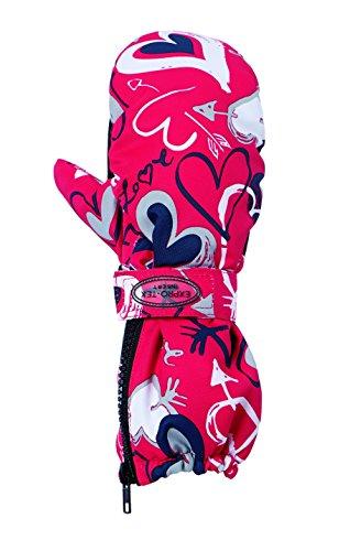 prosport Kinder Skifäustel, 35571, Rot – mehrfarbig, 3 | 04043545517073