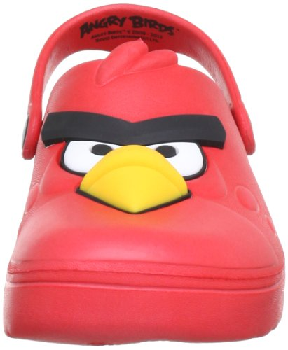 Angry Birds lightweight AB450230, Sabot bambino Multicolore (Mehrfarbig (red RED))