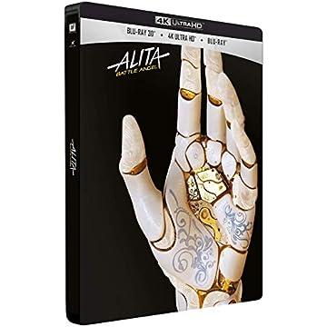 Alita : Battle Angel [4K Ultra HD + Blu-ray 3D + Blu-ray - Édition Limitée SteelBook]
