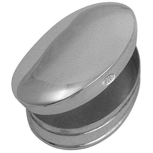 Pillendose Silber 925 Kassel 3x4x1,2 cm Sterling in Top Verarbeitung
