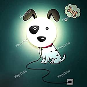 Creative Spot Dog Pattern DIY 3D Wallpaper Wall Lamp Craft Small Night Lamp FLD-157880