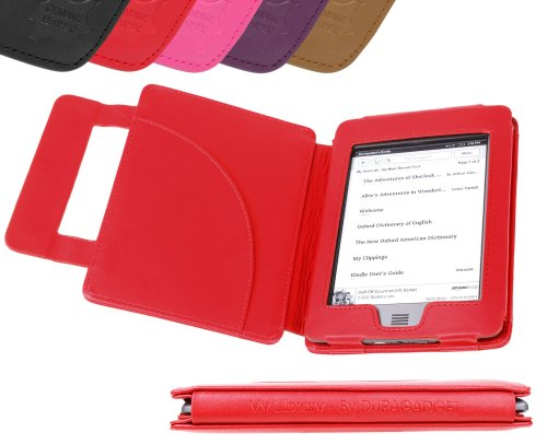 DURAGADGET Echt Leder Book Style Case & Cover für Kindle - Eink-cover Kindle