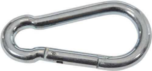 1 Mousqueton feuerwehrkarabiner 12 cm
