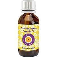Pure Wintergreen Essential Oil 100ml (Gaultheria procumbens) 100% Natural Therapeutic Grade (3.38 oz)
