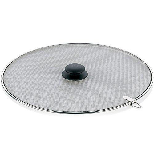 kela-11306-buco-grille-anti-eclaboussures-acier-inoxydable-argent-noir-33-cm