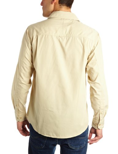 Craghoppers Kiwi Men's Long Sleeved Shirt – Oatmeal, Medium