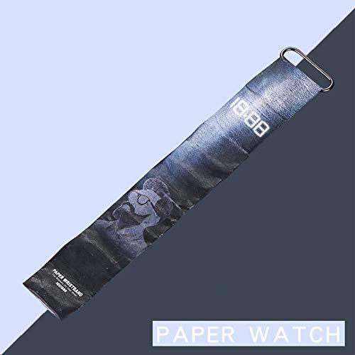 LanLan Papieruhr Schicke Einzigartige Papieruhr 10m wasserdicht Boy Girl Digitaluhren