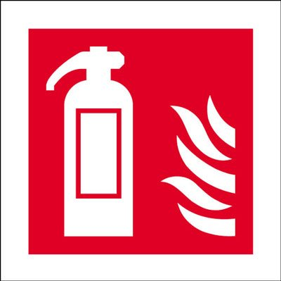 Fire Safety Signal 200x200 Rigid