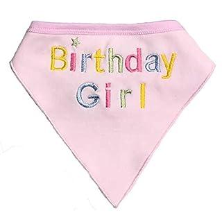 Alemon Dog Pet Birthday Bandana for Dogs, Pink