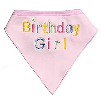 Alemon Dog Pet Birthday Bandana for Dogs, Pink 41wEcl8GpTL