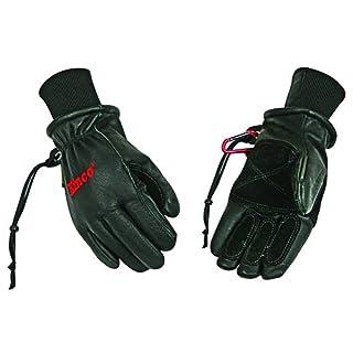 KINCO 900MAX-L Men's Pigskin Ski Glove, Revive Waterproofing, Heat Keep Thermal Lining, Large, Black by KINCO INTERNATIONAL