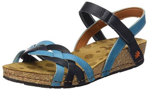 The Art Company - 0735 0735 Mojave Pompei, Scarpe col tacco Donna Blu (Multi Albufera)