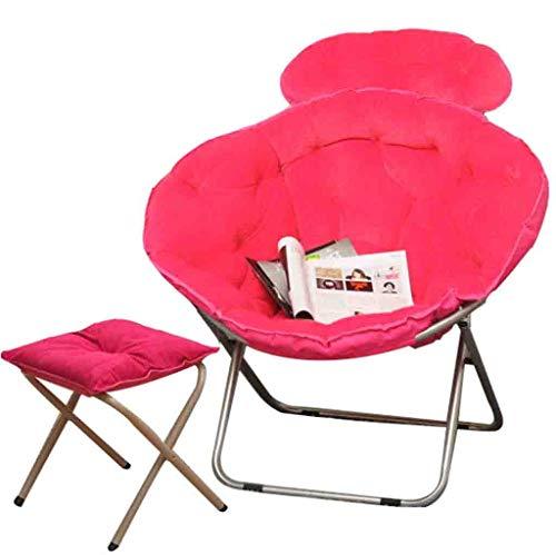 WZC Faltbarer Queen Moon Stuhl Lazy Chair Radar Chair Lunch Break Chair Liegestuhl Sun Chair jgh/F