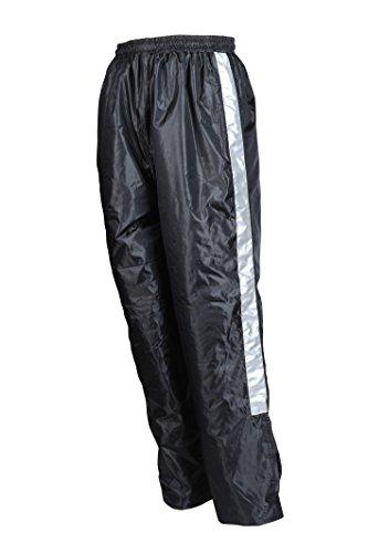 Motomod Pantalon pluie MOTO City Doublé, Noir, Taille L