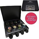 Hallingers 12er Tee-Geschenk-Set mit Tee aus aller Welt (120g) - Klassisches Tee-Set (Design-Karton) - zu Passt immer