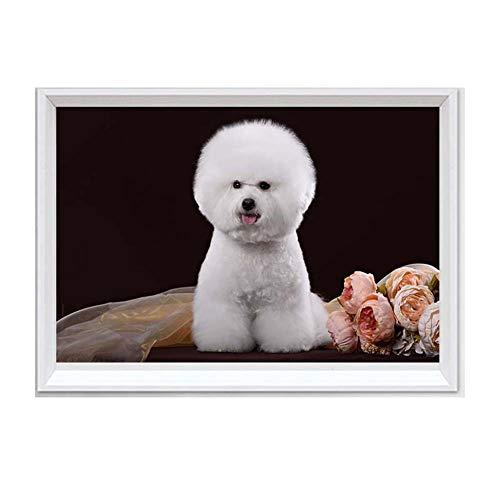 Dog Bild Animal 14ct 11CT Leinwand Naht, Stickerei, DIY DMC Set Counting -