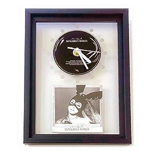 ARIANA GRANDE – Dangerous Woman: GERAHMTE CD-WANDUHR/Exklusives Design