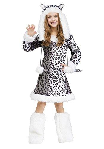 ostume, Medium (8-10) (Snow Leopard Kind Kostüme)