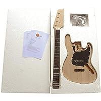 Electric Bass Guitar DIY Kit 1WM5DJazz Bass (DJB) 5 STRING Kits NO SOLDERING REQUIRED.