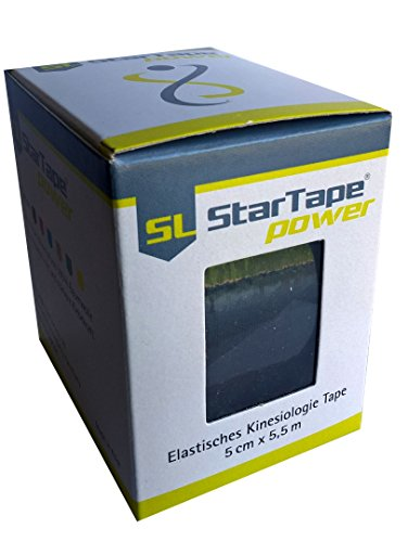 SL Star Tape power, 5cmx5,5m schwarz -