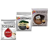 Tassimo Espresso Wake-Up Set: Jacobs, Gevalia, Carte