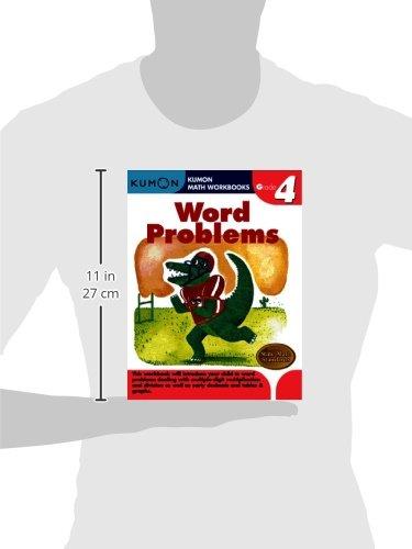 Word Problems, Grade 4 (Kumon Math Workbooks)
