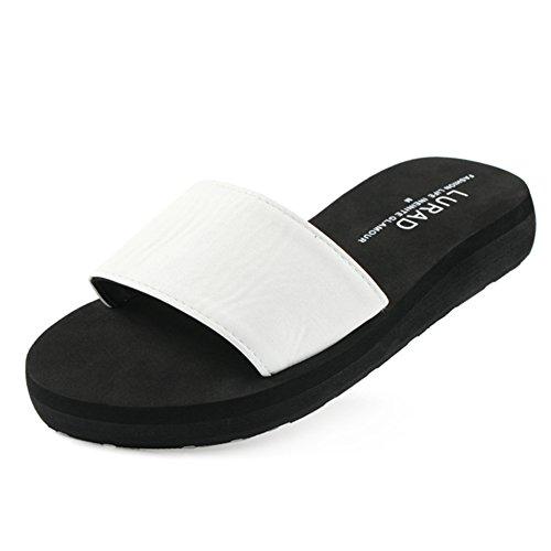 Signora pantofole/Skid casual Zeppe Sandali in estate/marea sandali G