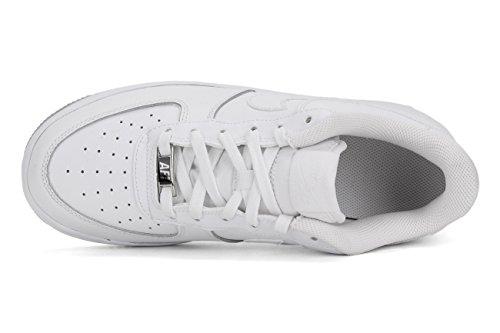 Nike Lunar Force 1 '16 (Gs), espadrilles de basket-ball garçon Blanc