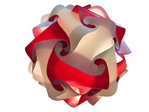 rouge-blanc-deco-lampe-45-cm