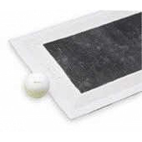 We Search You Save Henselite Bowling Standard Vert gazon Jack d'extérieur Vert plat Blanc
