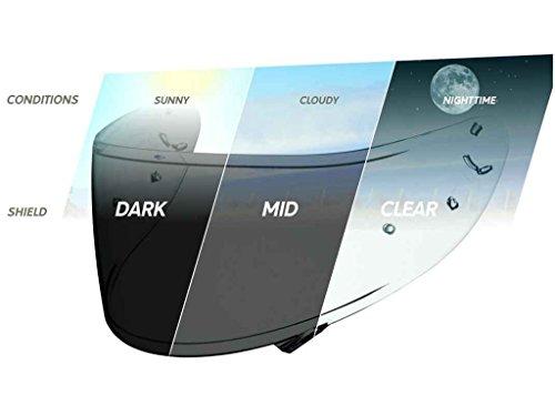 SHOEI Visier selbsttönend für den Helm NXR CWR 1 Photocromic