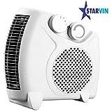 STARVIN® Premium Fan Heater Heat Blow || Silent Fan Room Heater (White) || with 1 Season Warranty || M-05