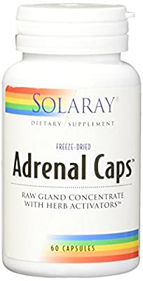 Solaray, Adrenal Caps, 60 Capsules