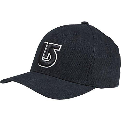 burton-cappellino-uomo-mb-striker-flexfit-nero-true-black-taglia-unica