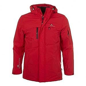 Peak Mountain - Parka de ski homme CADIK- rouge - S