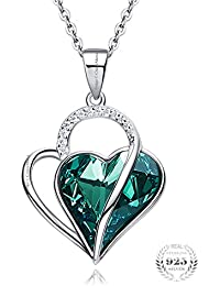 Young & Forever Mothers Day Gifts Timeless Treasure Crystals From Swarovski 925 Silver Green Eternity Of Love...
