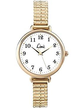 Limit Damen-Armbanduhr Analog Quarz gold 6963.01