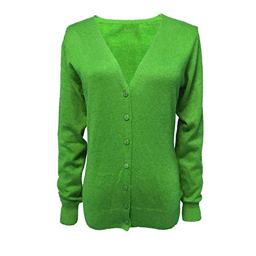 HIDOUYAL Cardigan for Women\'s (Grün, XXXL)