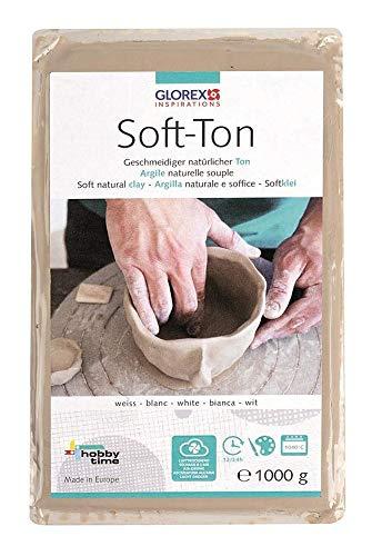Glorex Soft Ton weiß