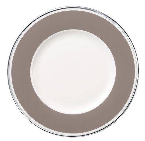 22cm Frühstücksteller 'Anmut My Colour' aus Premium Bone Porzellan Farbe: Rock Grey