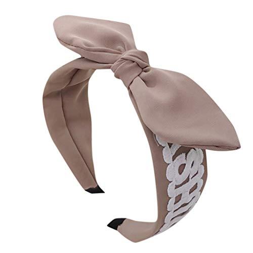 LILIHOT Stirnband Damen elastische Haarband Kopfband Weich Turban Stirnband für Alltag Yoga Sport Fitness Frauen Kristall Stirnband Stoff Haarband Kopf wickeln Haarband Zubehör