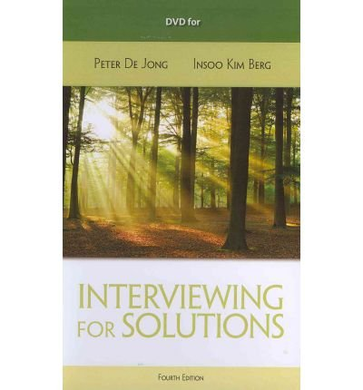 (DVD for de Jong/Kim Berg's Interviewing for Solutions, 4th) By Peter de Jong (Author) cd_rom on (Jan , 2012)