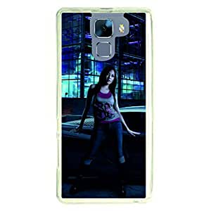 a AND b Designer Printed Mobile Back Cover / Back Case For Huawei Honor 7 (HON_7_2099)