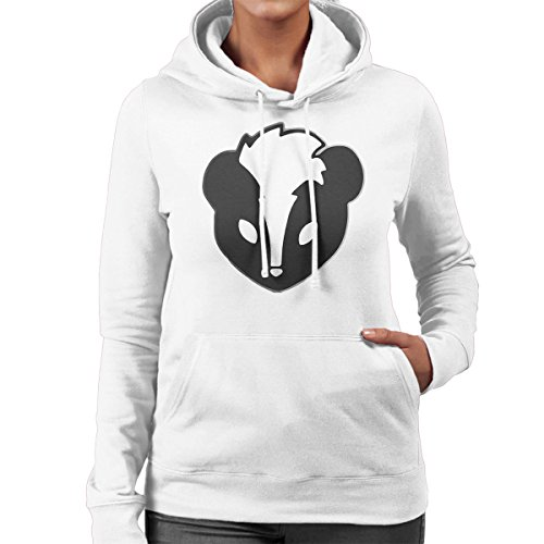 LordSkunk Skunk Head Star Wars SWGOH Women's Hooded Sweatshirt white